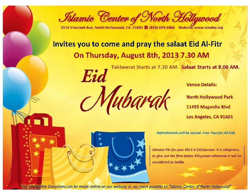 EID AL FITR 2013