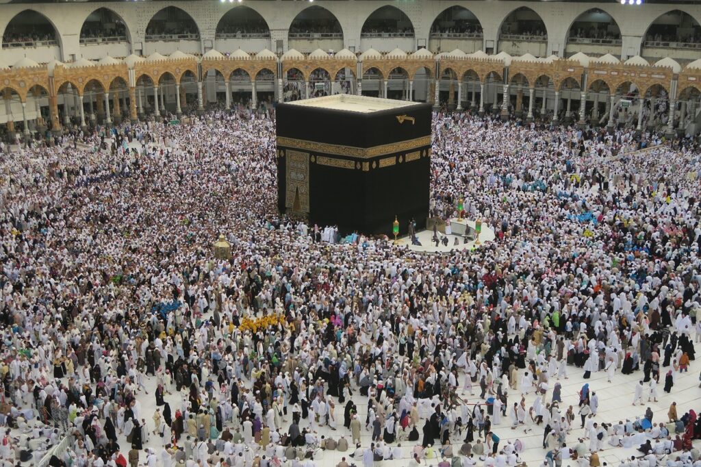 kaaba, mecca, the pilgrim's guide